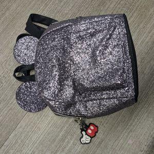 DISNEY'S Micky Mouse Glitter Bag Backpack